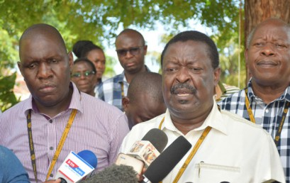 ANC leader Mudavadi faults government over heavy borrowing