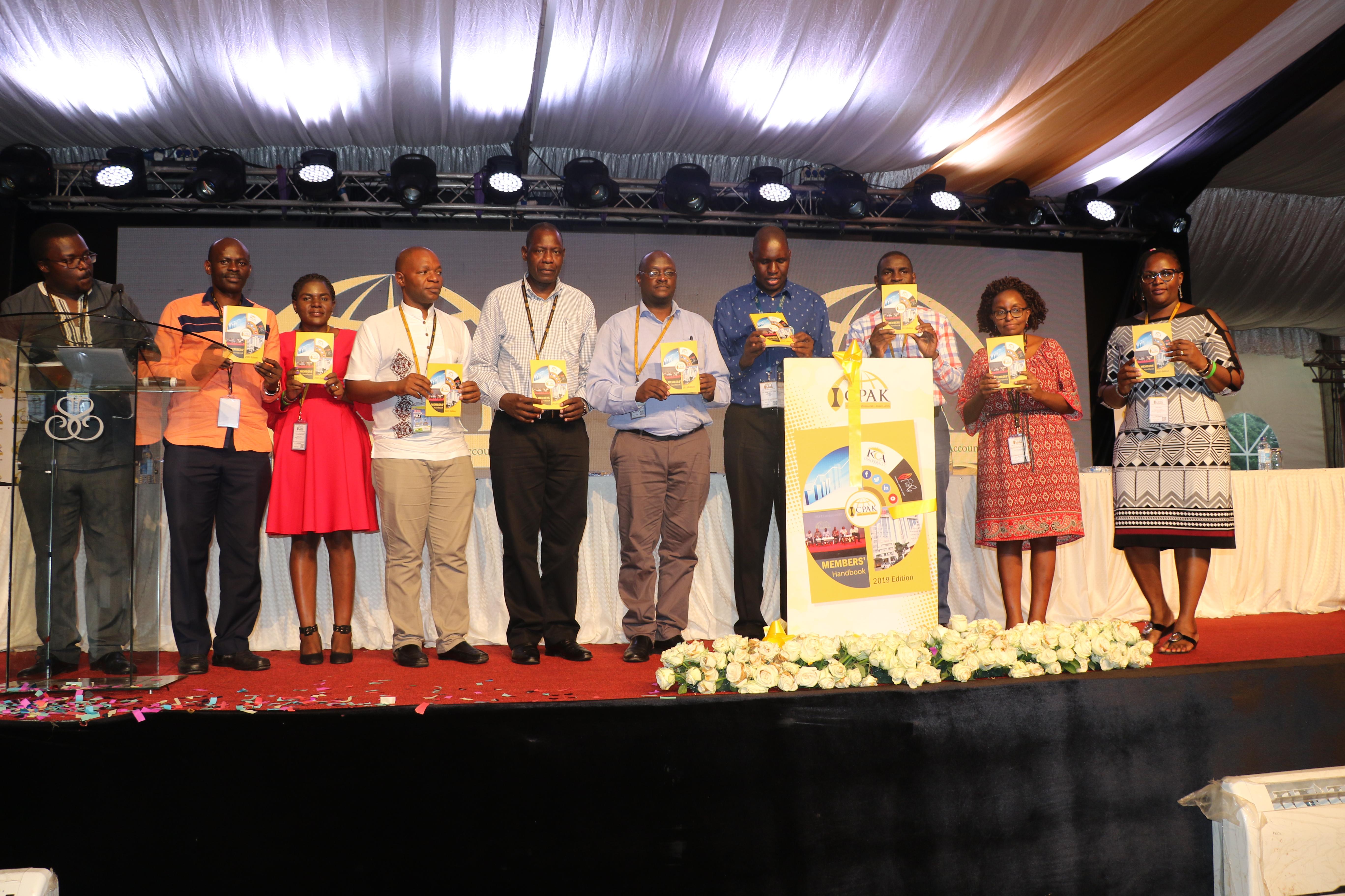 ICPAK Launches Members Handbook