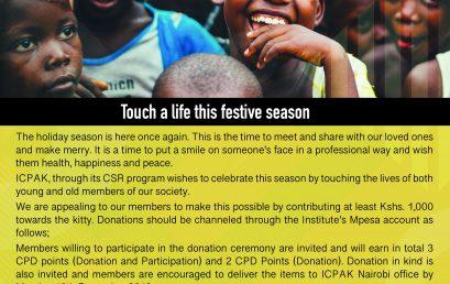 Touch a life this festive season