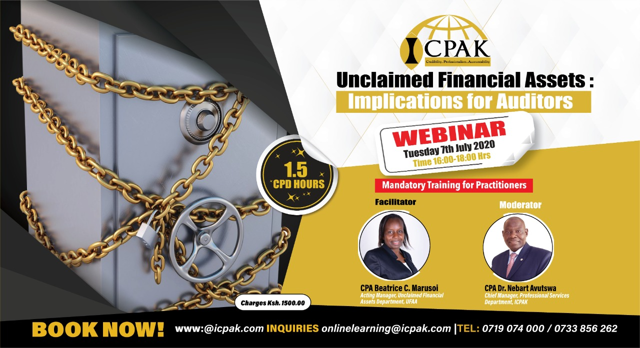 Unclaimed Financial Assets: Implications for Auditors(MANDATORY TRAINING)