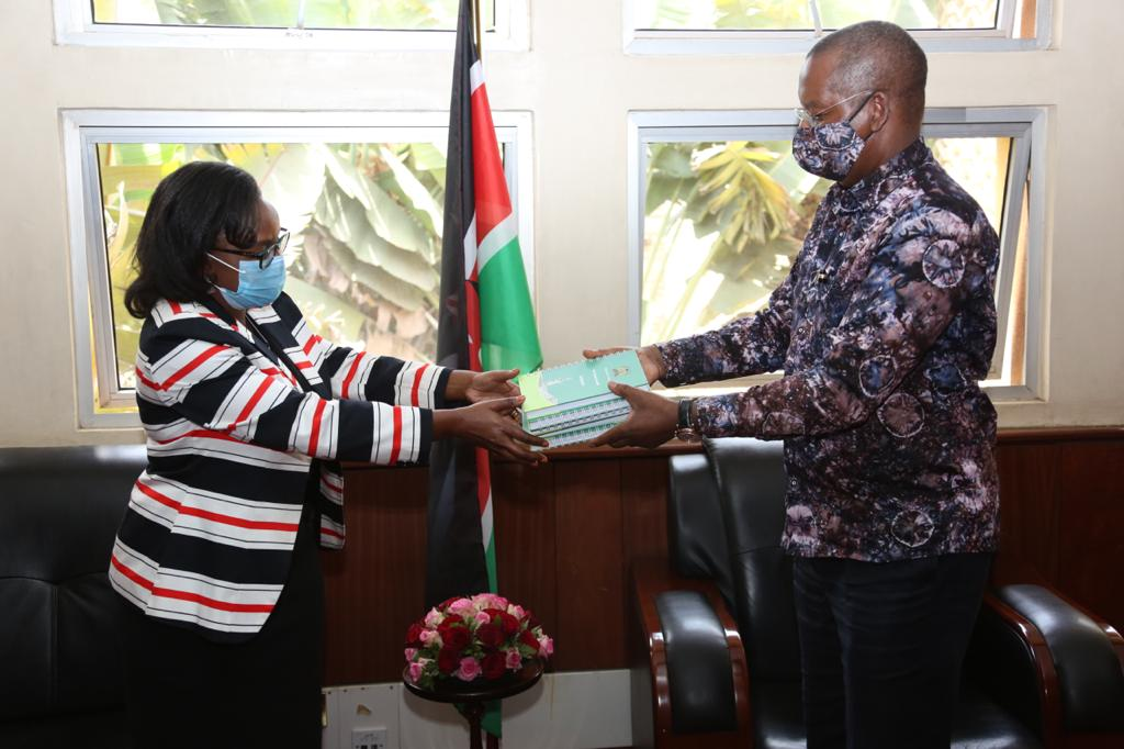 ICPAK PAYS A COURTESY CALL TO THE LEADER OF MAJORITY IN THE NATIONAL ASSEMBLY.