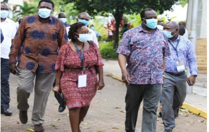 Counties overwhelmed by virus, says Oparanya