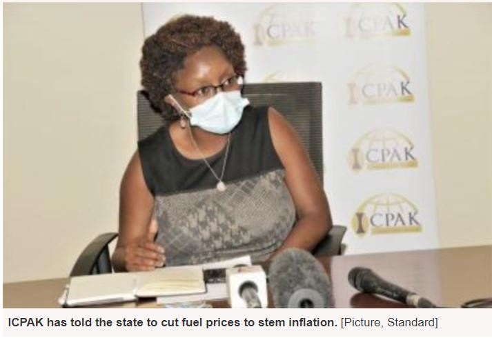 Cut fuel prices to stem inflation, accountants tell State
