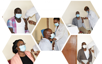 ICPAK CEO, CPA EDWIN MAKORI AND OTHER ICPAK MEMBERS GET COVID-19 VACCINATION